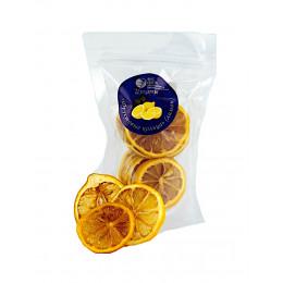 Цукаты Фруктовые кольца лимон 70 гр Вкус Севера