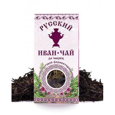 Русский Иван-Чай ферментированный с Чабрецом 50 гр.