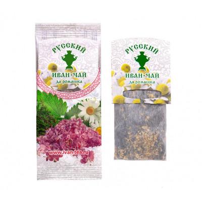 Русский Иван-Чай да ромашка 5 гр. фильтр пакет для чайника