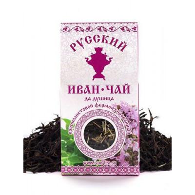 Русский Иван-Чай ферментированный с Душицей 50 гр
