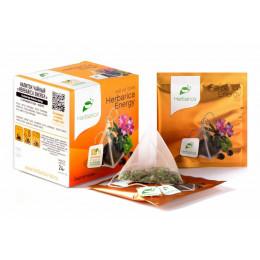 Напиток чайный Herbarica Energy энергия жизни 12 пирамидок в саше-конвертах 24 гр