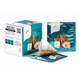 Напиток чайный Herbarica Relax время для отдыха 12 пирамидок в саше-конвертах 24 гр