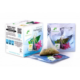 Напиток чайный Herbarica Spa время для себя 12 пирамидок в саше-конвертах 24 гр