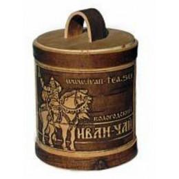 Иван-Чай Вологодский черный, ферментированный в берестяном туесе 100 гр