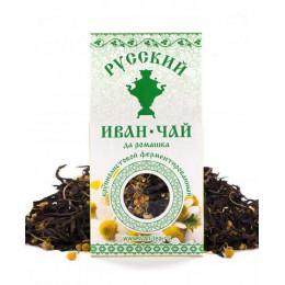 Русский Иван-Чай ферментированный с Ромашкой 50 гр.