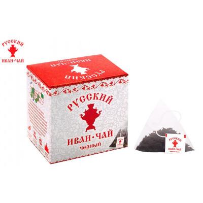 Русский Иван-Чай чёрный 20 гр. 10 пирамидок в саше-конвертах
