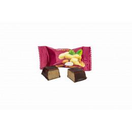 Конфеты Вологодские с арахисом весовые в завертке 5 кг