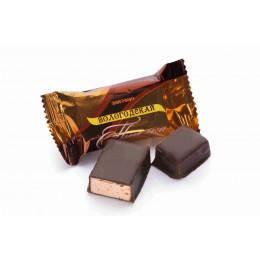 Конфеты Вологодская птичка с шоколадом весовые в завертке 4 кг