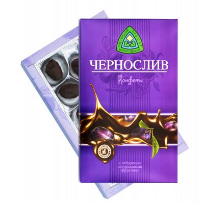 Конфеты Фрукты глазированные Чернослив 230 гр