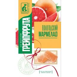 Мармелад Вологодский со вкусом грейпфрукта 240 гр