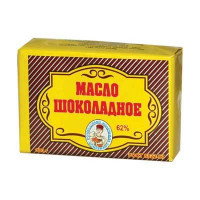 Масло шоколадное из Вологды 62% 180 гр в пачке ВМК