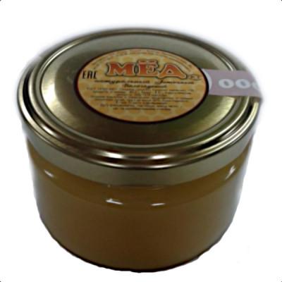 Мед натуральный цветочный стеклянная банка фасета, 250 гр
