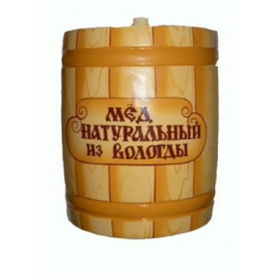 Вологодский мед 800 гр в бочонке Досочка
