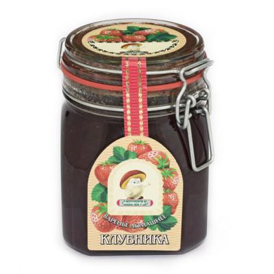 Варенье домашнее Вологодское клубничное 1 кг