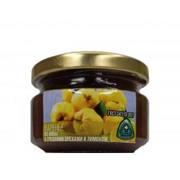 Варенье из айвы с грецкими орехами и лимоном 300 гр