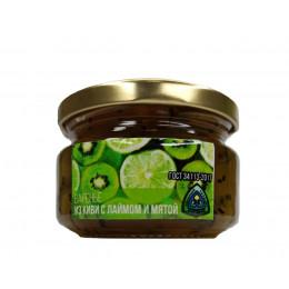 Варенье из киви с лаймом и мятой 300 гр