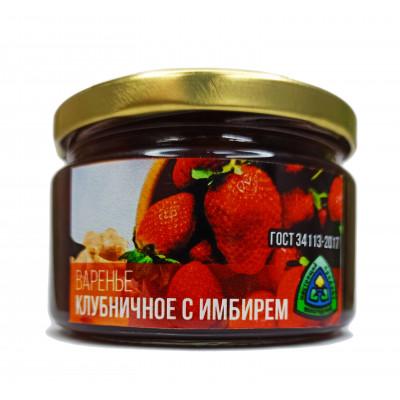Варенье клубничное с имбирем 300 гр