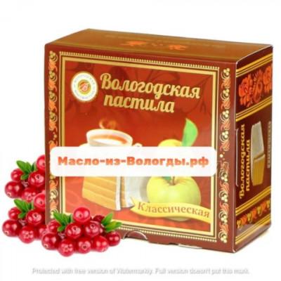 Пастила яблочная яблочная 150 гр Вологодская мануфактура