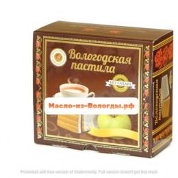Пастила яблочная без сахара 115 гр Вологодская мануфактура