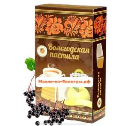Пастила яблочная без сахара с клюквой 230 гр Вологодская мануфактура