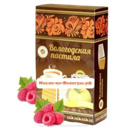 Пастила яблочная без сахара с малиной 230 гр Вологодская мануфактура
